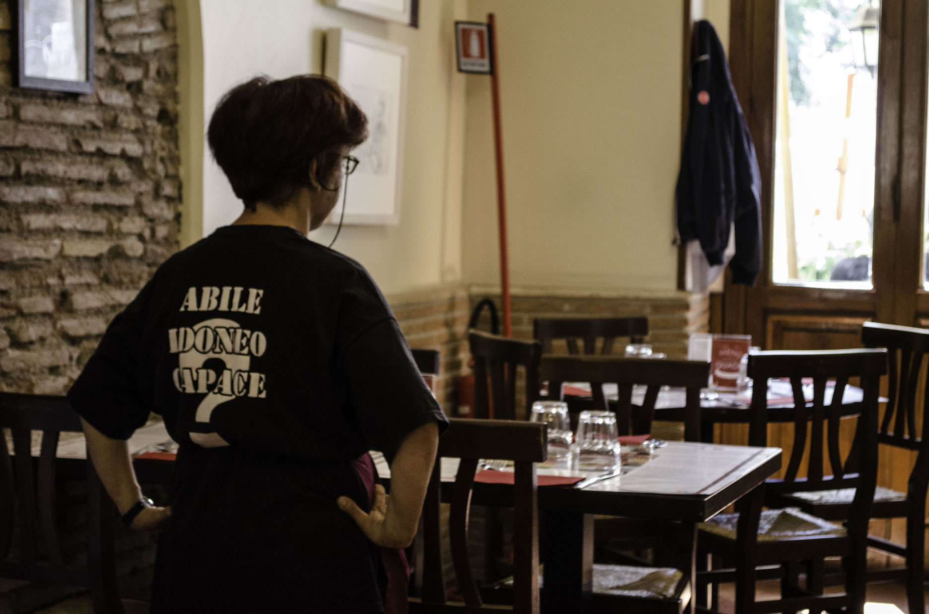 Angela: abile, idonea e capace!
