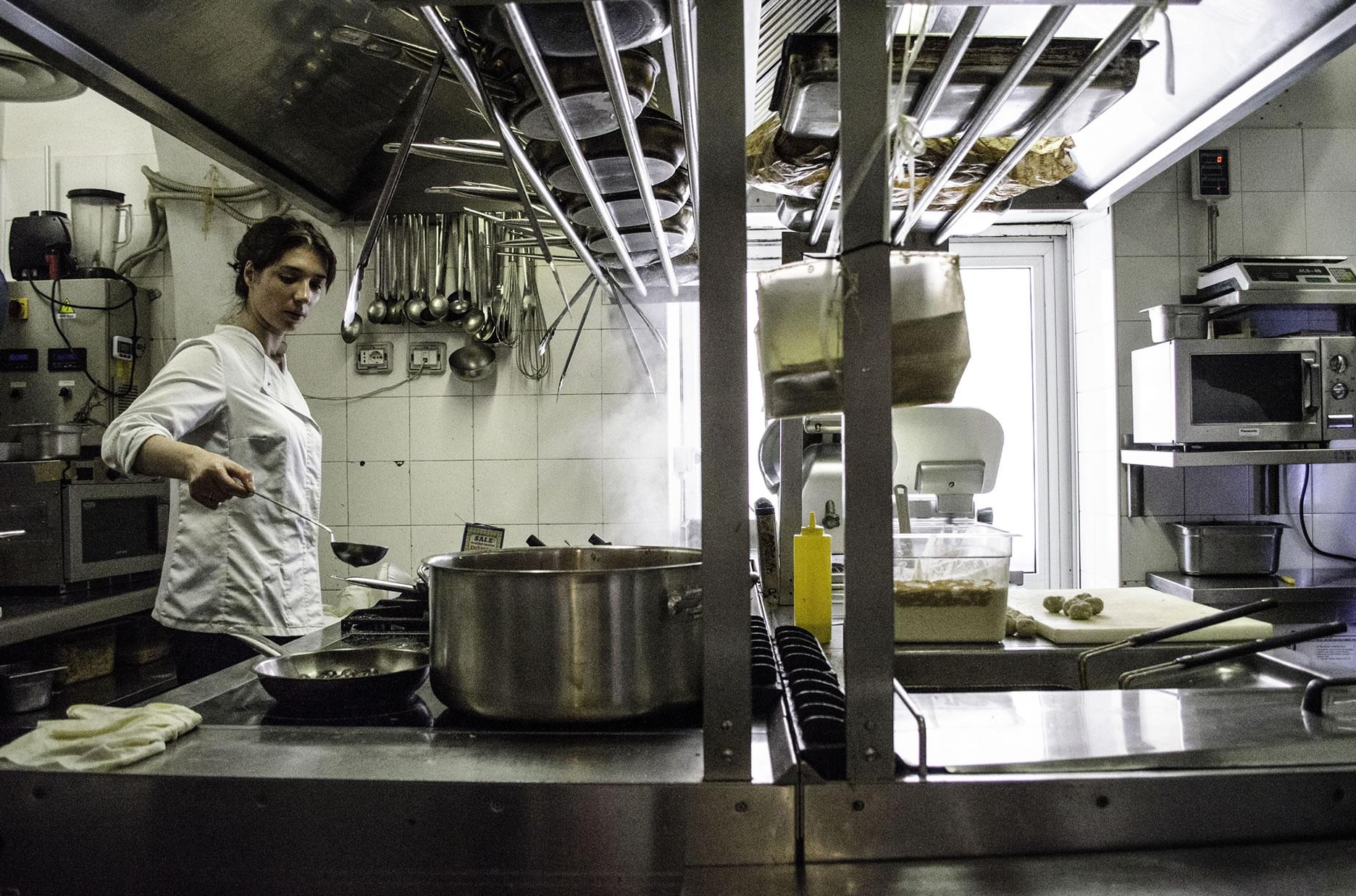 Anche Elisabetta contribuisce alla qualità della ristorazione
